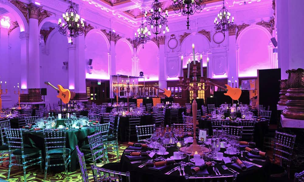 London 8 Northumberland Avenue Christmas party venue hire