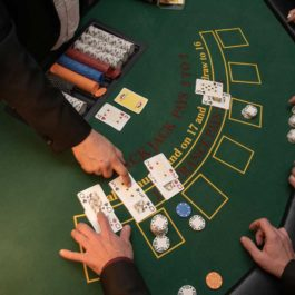 Casino themed christmas party london