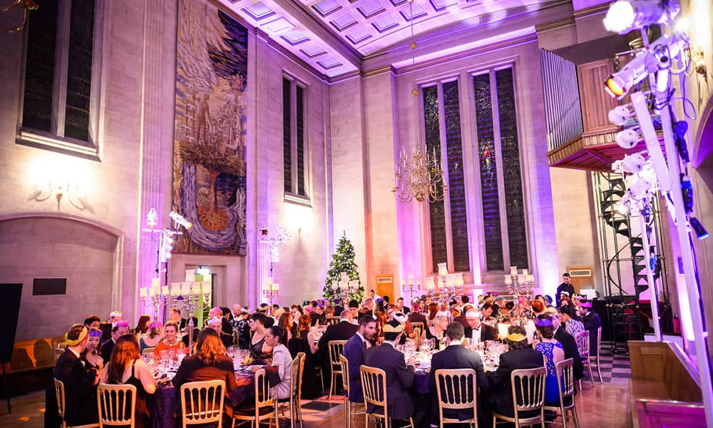 London Austin Friars Christmas party