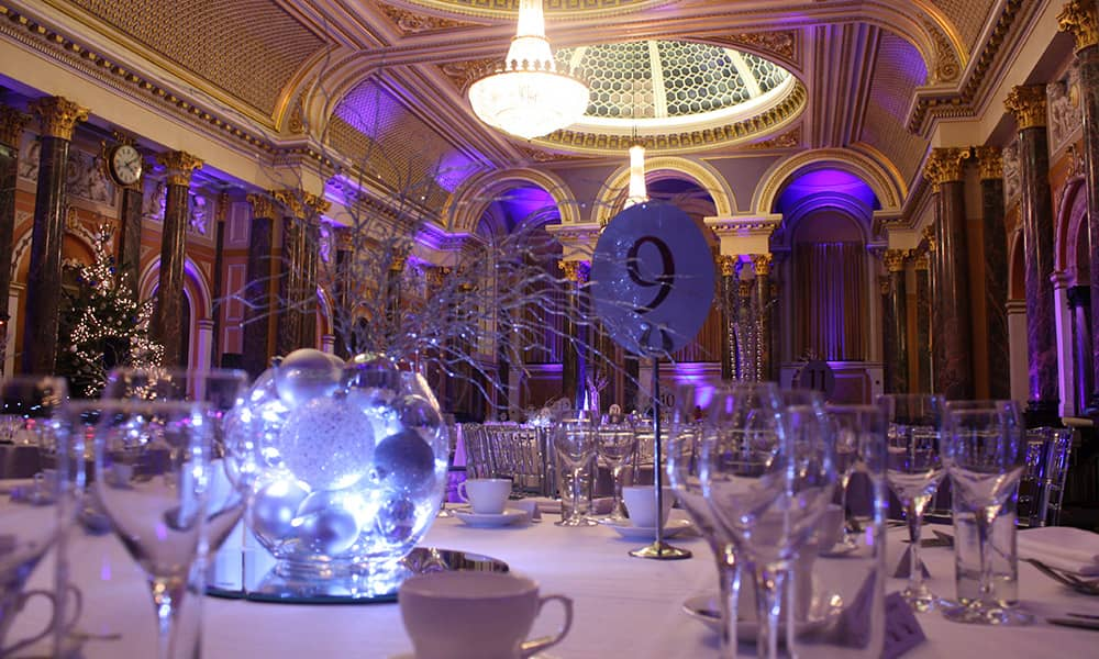 Gibson Hall central london christmas party venue
