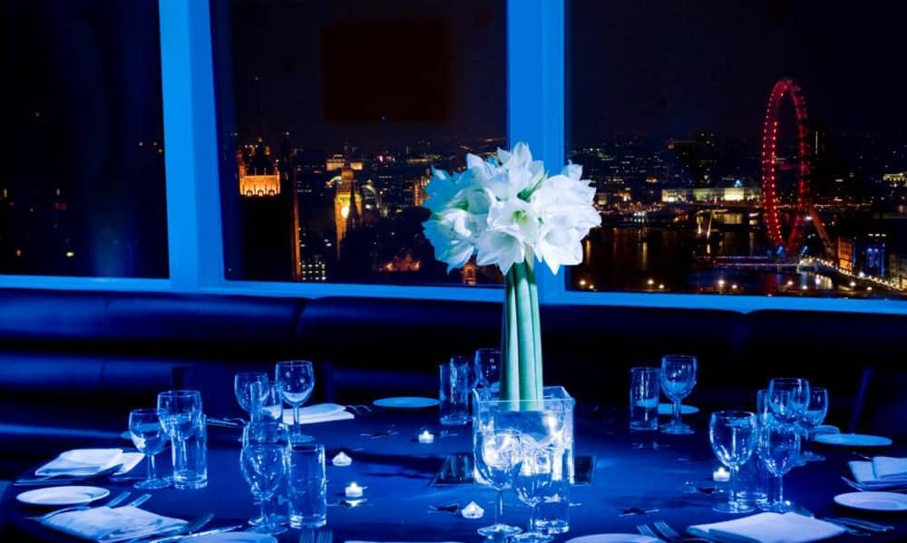 london Altitude Millbank Tower christmas party venue