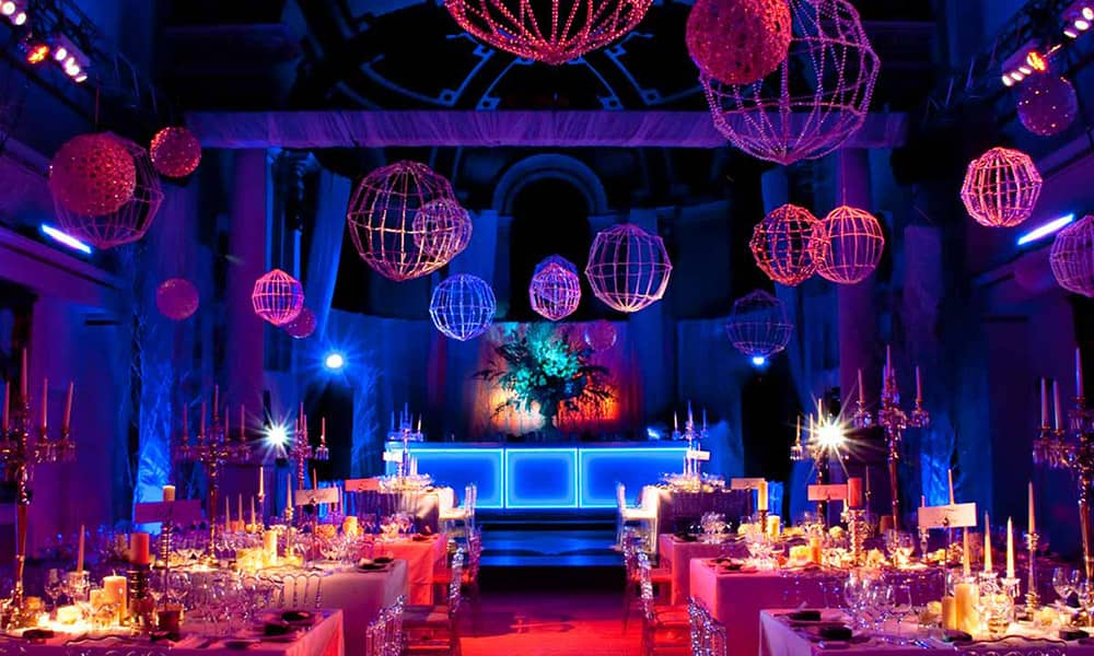 london, one Marylebone christmas party venue hire