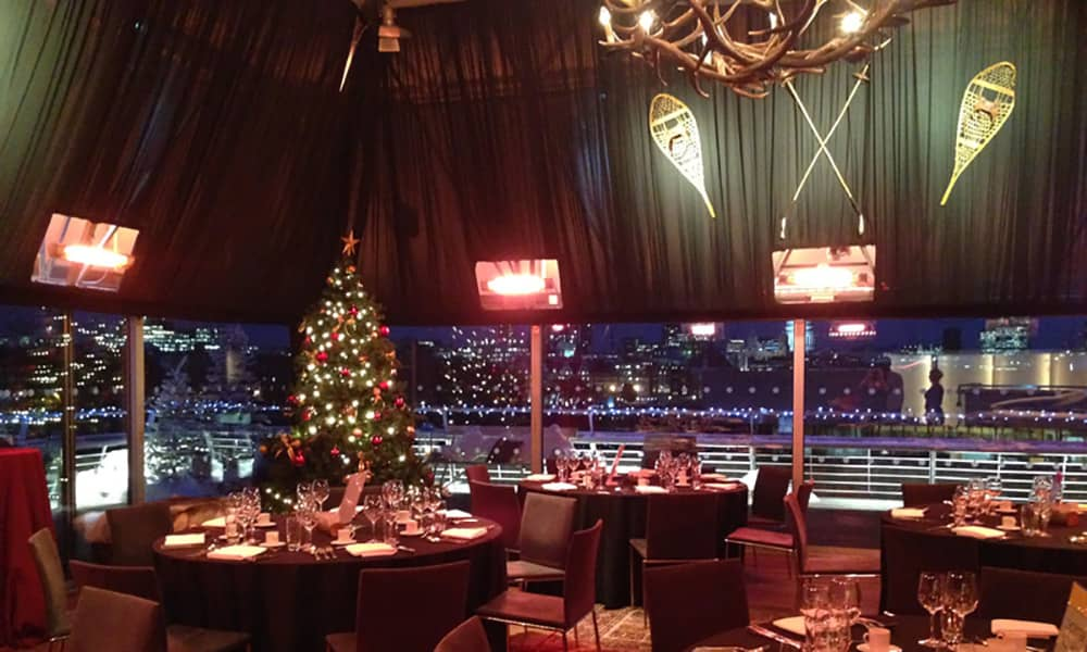 national theatre london christmas party venue hire