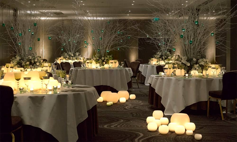 London hotel Raddison traditional christmas party in central london
