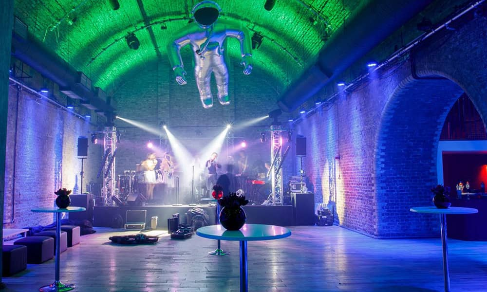 london Steel Yard christmas party venue hire