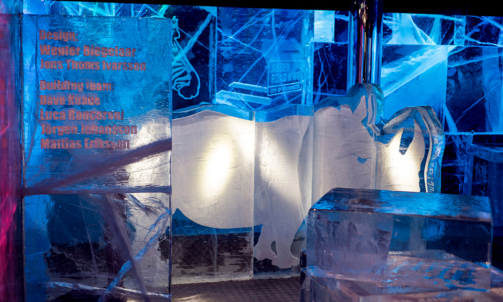 christmas parties at the London Ice Bar