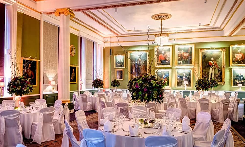 London 116 Pall Mall Christmas PARTY Venue hire