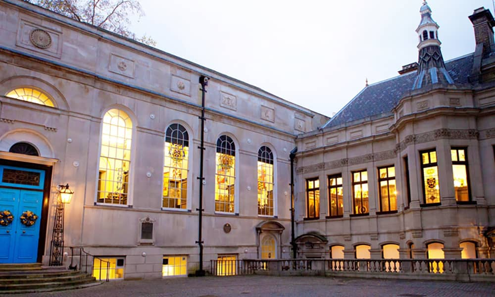 London Stationers Hall christmas party