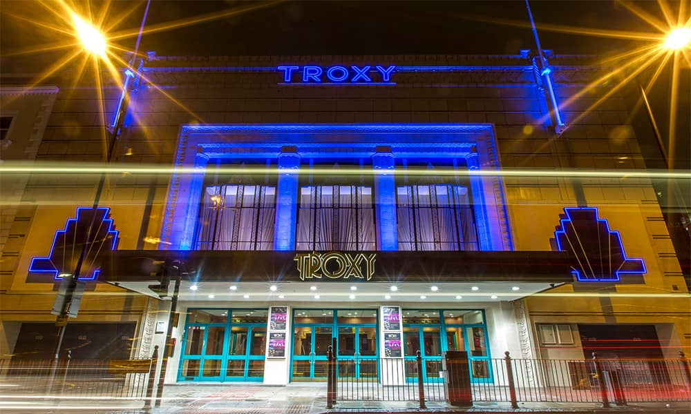 London Troxy Christmas party venue hire