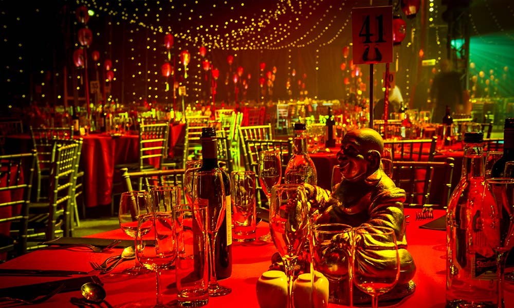 Cirque Shanghai themed Christmas Party