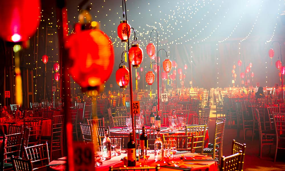 Cirque Shanghai themed Christmas Party
