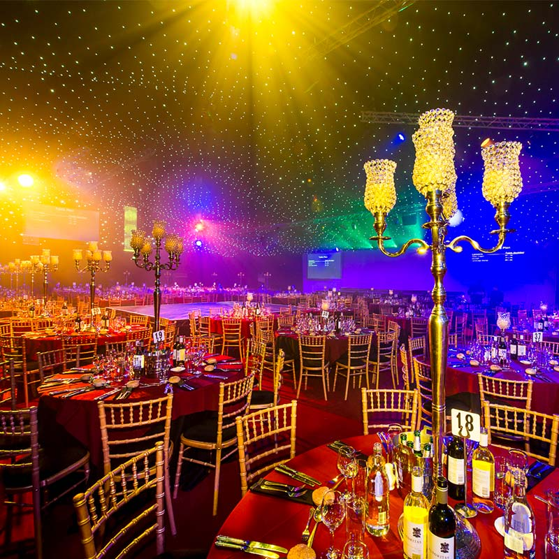 Glitterball themed Christmas Party