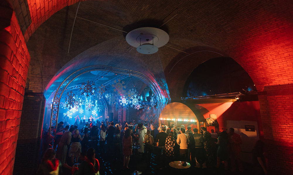 Billingsgate Vaults Party Venue 1