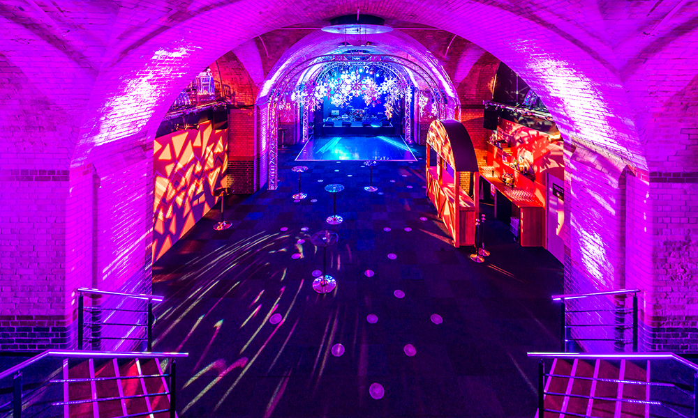 Billingsgate Vaults Party Venue