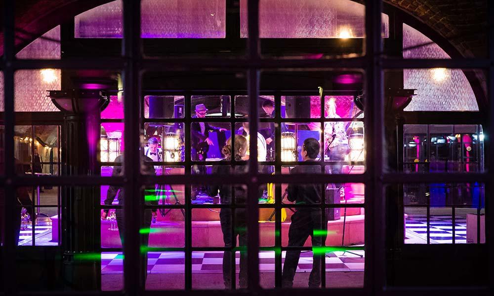 tobacco docks christmas party London