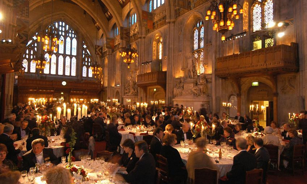 Ironmongers' Hall Christmas Party