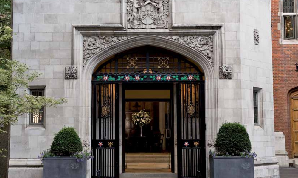 Ironmongers' Hall Entrance