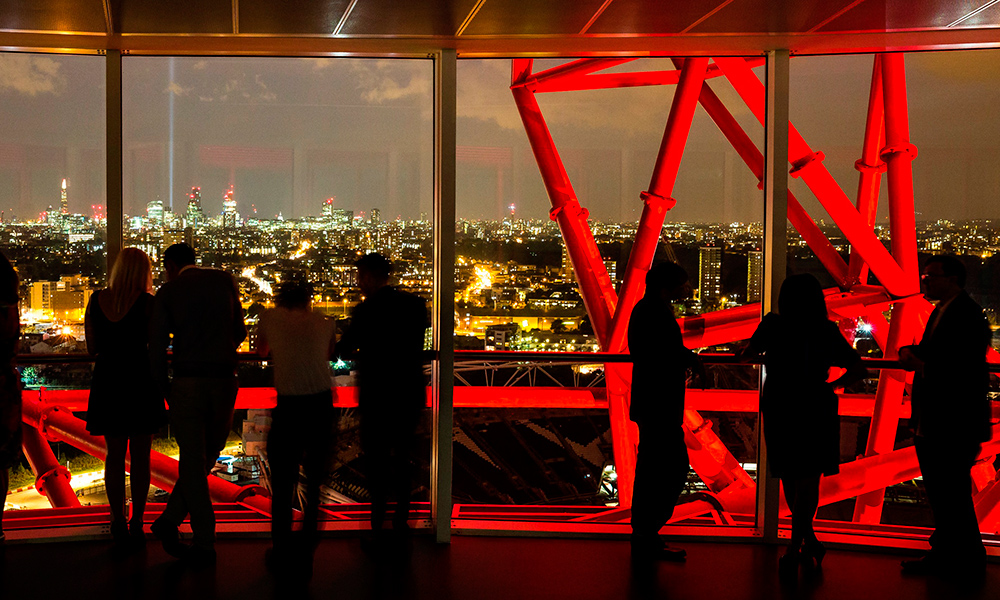 London Arcelormittal Orbit Christmas Party