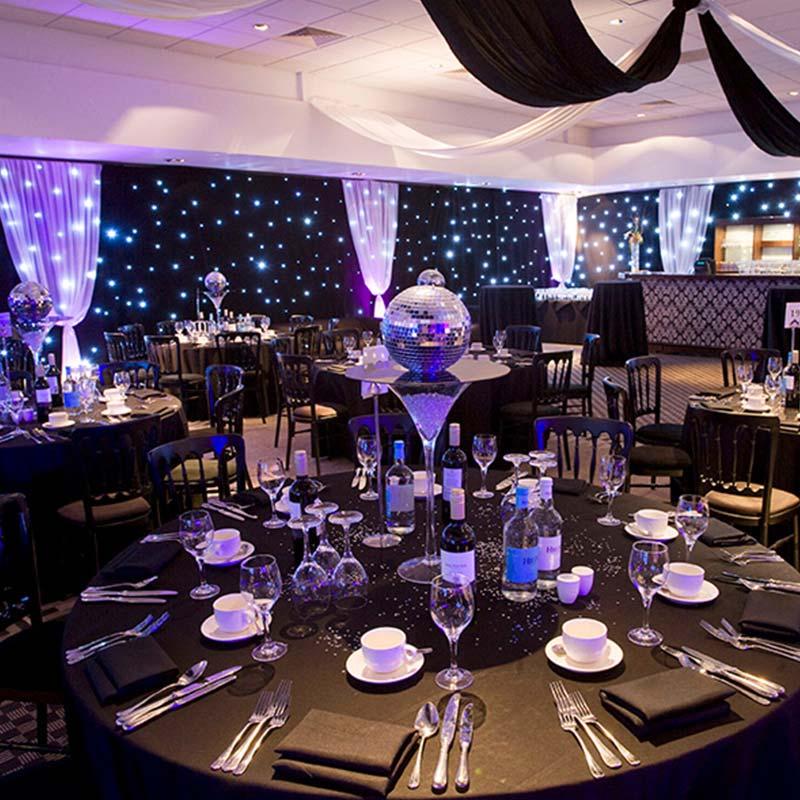 Christmas Party Brighton: Radisson Blu Vanderbilt Hotel 2018