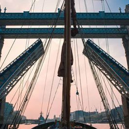 thames christmas party sailing barge will