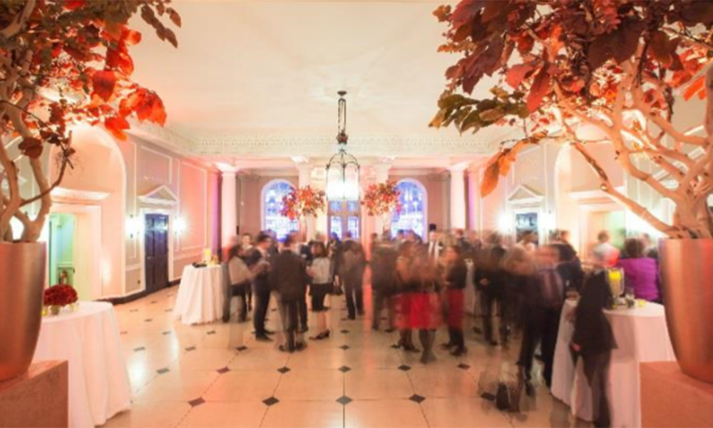 Christmas Party At Somerset House Reception