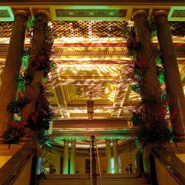 The Grand Temple Christmas Party Staircase