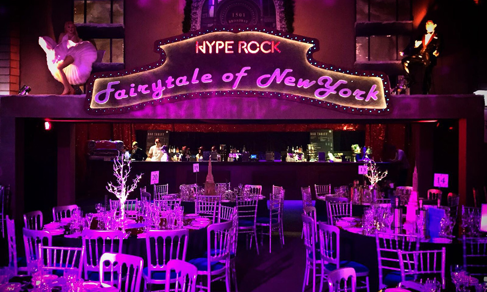 Fairytale of new york christmas party