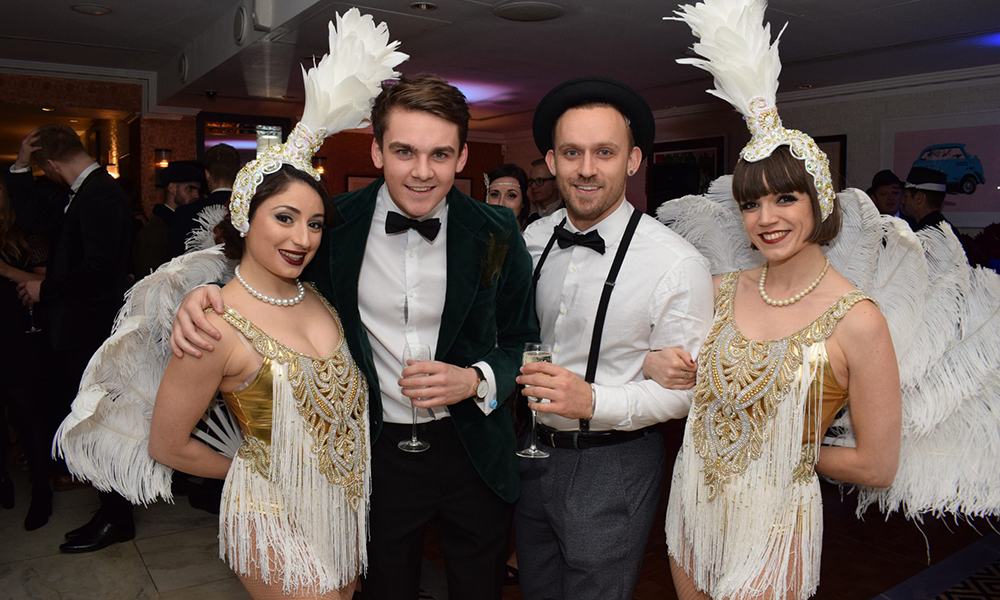 London Gatsby Christmas party